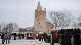 Adventsmarkt in der Burg Klempenow