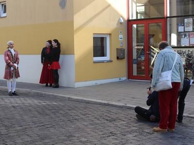 Dreharbeiten von Casanova mit dem Ballett Vorpommern