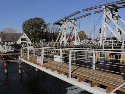 Behelfsbrücke in Wieck