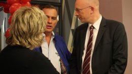 Christian Pegel auf der Wahlkampfparty