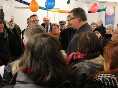 Eröffnung des Willkommenszentrums in Greifswald