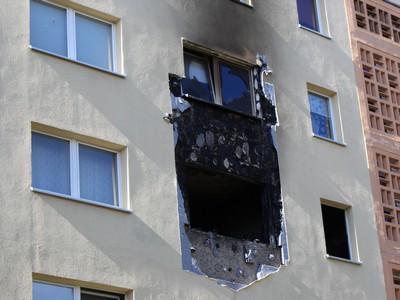 Explosion in der Ludwigsburger Wende