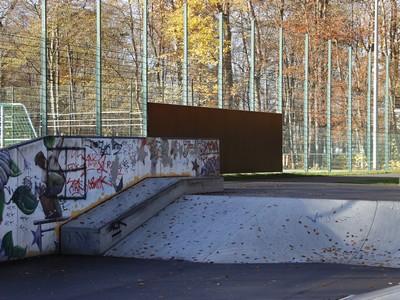 Graffitiübungsfläche im Volksstadion