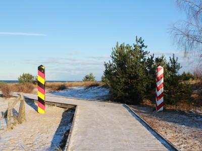 Grenze zwischen Deutschland und Polen