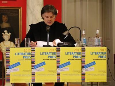 Literaturpreis Mecklenburg-Vorpommern 2017 - André Hatting