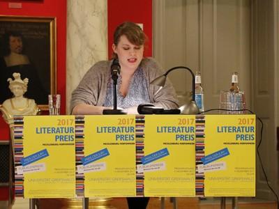 Literaturpreis Mecklenburg-Vorpommern 2017 - Berit Glanz