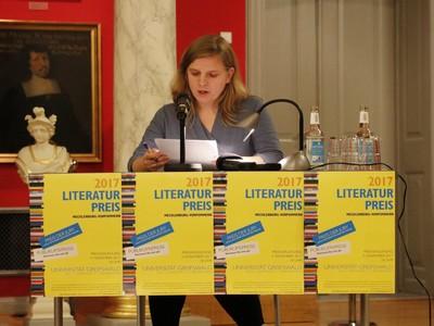 Literaturpreis Mecklenburg-Vorpommern 2017 - Katharina Lang