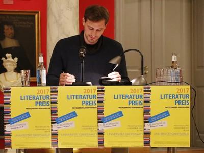 Literaturpreis Mecklenburg-Vorpommern 2017 - Lukas Valtin