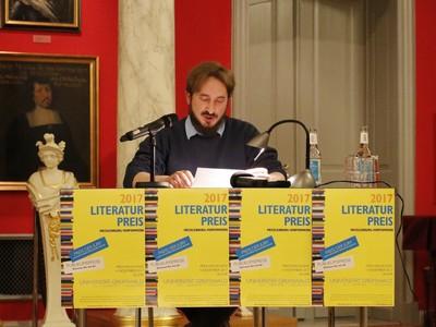 Literaturpreis Mecklenburg-Vorpommern 2017 - Sven Hirsekorn