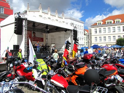 Motorradgottesdienst Greifswald 2013