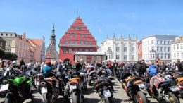 Motorradgottesdienst in Greifswald