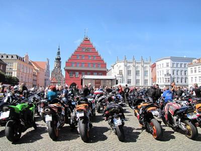 Blick auf Greifswald, Foto: Thomas Grundner