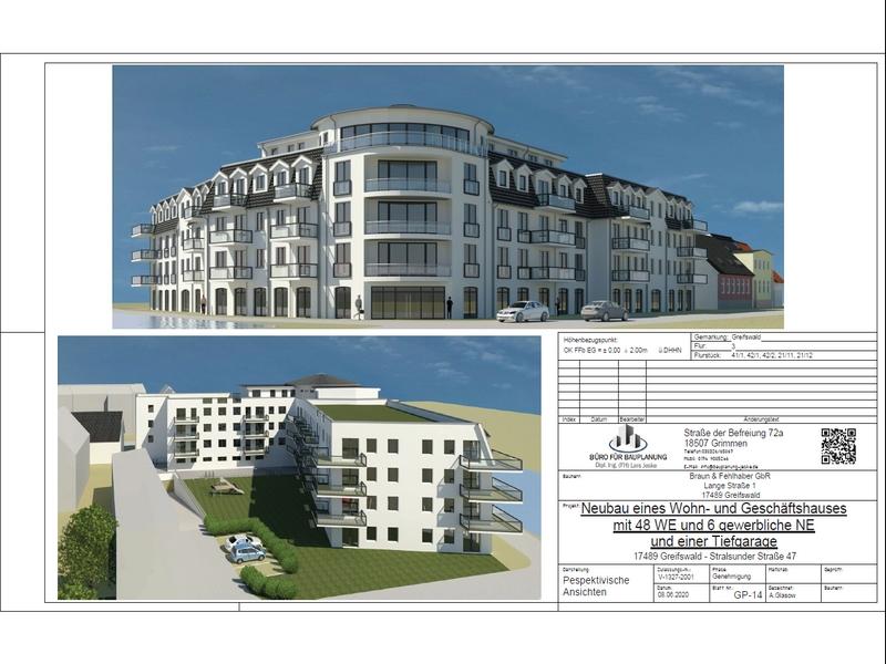 Neubau der Stralsunder Straße 47