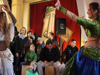 Nikolausfest in der Museumswerft -  Bauchtanz