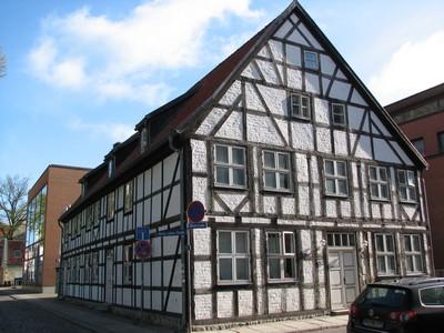 das Pfarrwitwenhaus von Greifswald