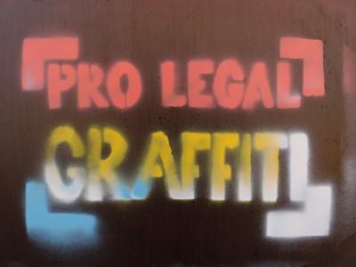 PRO LAGAL GRAFFITI-Logo für Greifswald